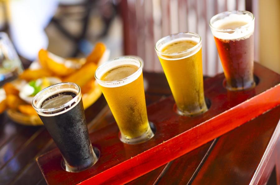 Cervezas Ale, porter, lager, pilsner