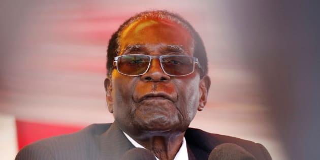 ムガベ大統領
