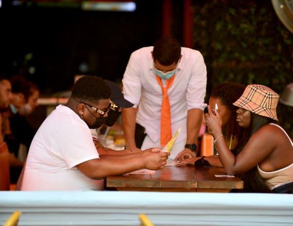 Miami stops indoor dining as virus cases skyrocket