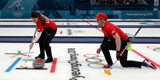 Une autre victoire pour Kaitlyn Lawes et John Morris — Curling mixte