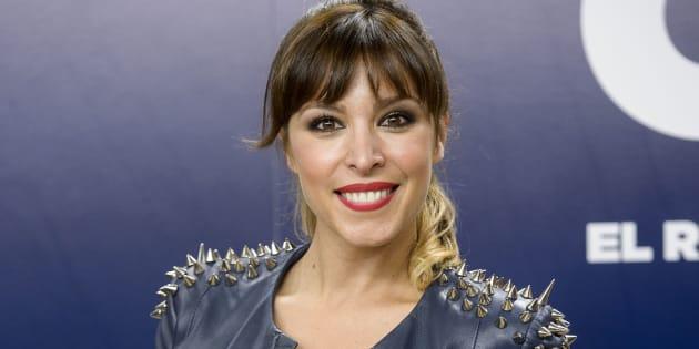 La cantante Gisela durante la presentación del programa 'OT. El reencuentro'.