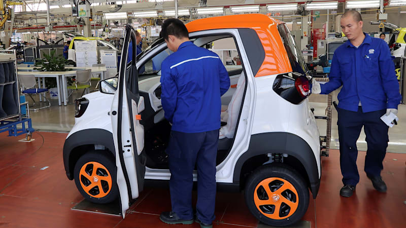 GM says its EV sales will meet China's quotas by 2019 ...