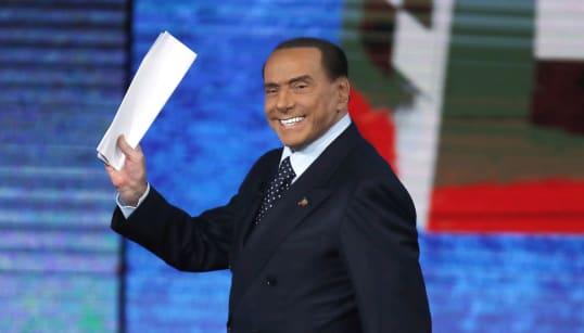 RI-RI-RIDISCESA IN CAMPO - Annuncio di Berlusconi: