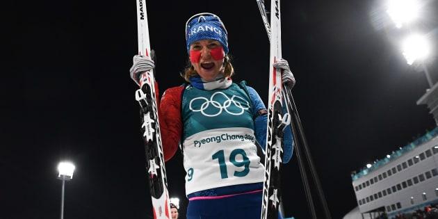Anaïs Bescond remporte une médaille de bronze en Biathlon aux Jeux olympiques 2018