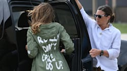 Melania Trump Wears Jacket With 'I Really Don't Care' On It To Visit Immigrant