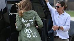 WATCH: Melania Trump Wears Jacket With 'I Really Don't Care' On It To Visit Immigrant