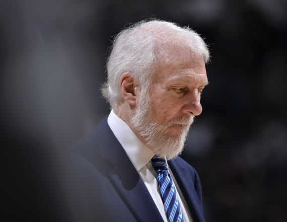 Gregg Popovich's wife, Erin, has died