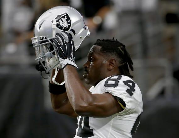 Antonio Brown returns to Raiders to break camp