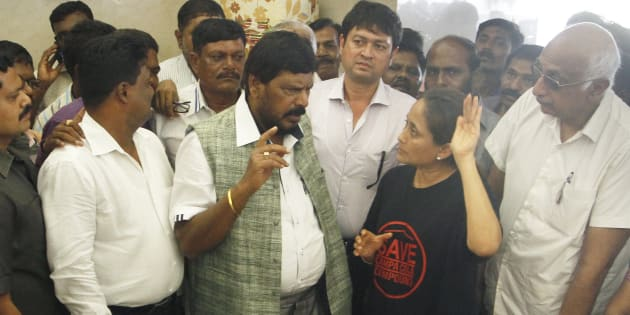 Beef vigilantes should be punished: Ramdas Athawale
