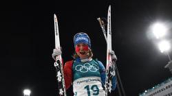 Anaïs Bescond remporte le bronze en Biathlon à