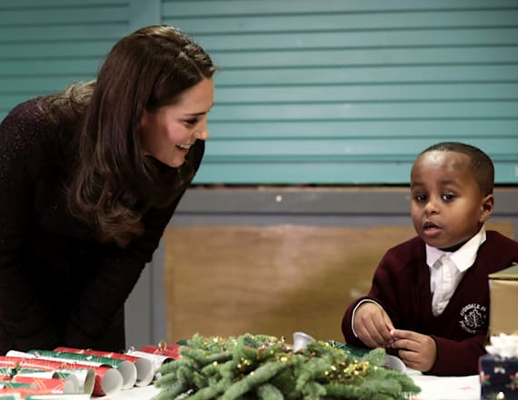 Duchess Kate's moment with student is too cute