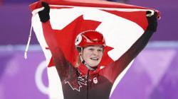Kim Boutin gagne la médaille d'argent au 1000
