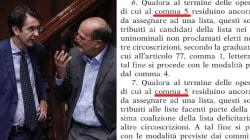 Nel Rosatellum approvato in tutta fretta c'è un errore: le norme sull'assegnazione dei seggi sono in conflitto (di C.