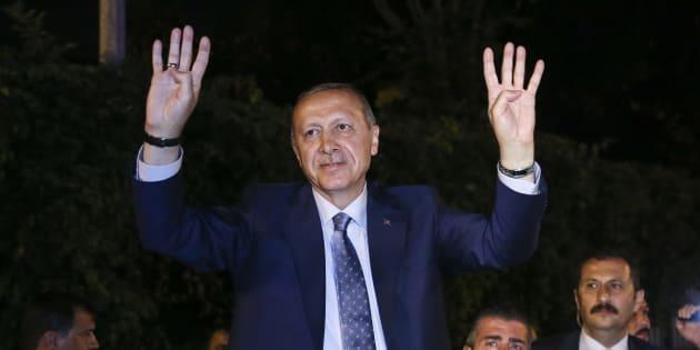 Turquie: Recep Tayyip Erdogan remporte officiellement l'élection présidentielle dès le premier tour.