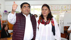 Barbosa pide conteo voto por voto en Puebla; simpatizantes señalan