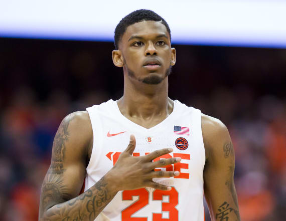 Syracuse point guard suspended on eve of tournament