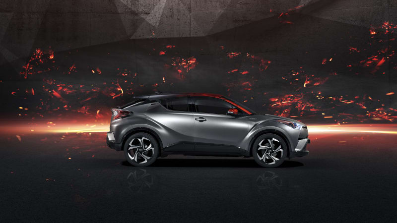 Toyota's C-HR Hy-Power concept heralds higher-powered hybrids