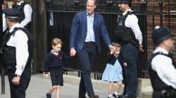 Il primo incontro con il fratellino: William porta George e Charlotte in clinica da mamma