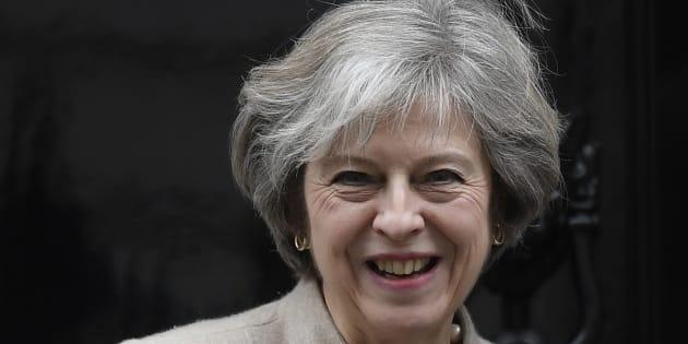 Theresa May le 13 janvier 2017.