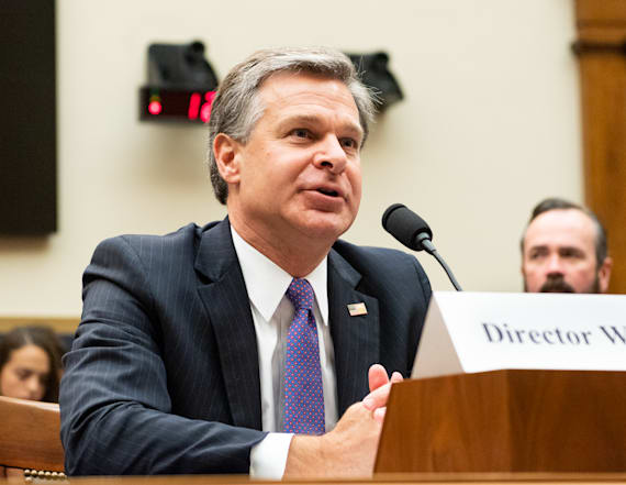 FBI Director Wray hints that he considered resigning
