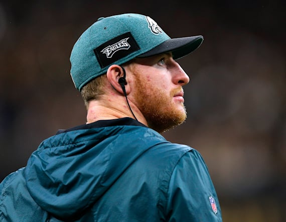 Eagles confirm Carson Wentz is team's quarterback
