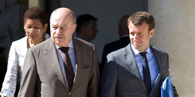 Jean-Michel Bayet et Emmanuel Macron à l'Elysée en juillet 2016.