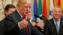 Trump annonce des taxes de 10% sur 200 milliards de biens