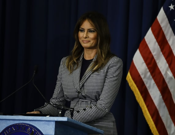New book makes odd assertion about Melania Trump
