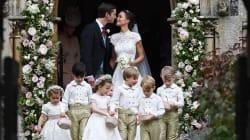 Les images de l'arrivée de Pippa Middleton (et ses prestigieux invités) pour son