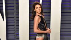 Kendall Jenner a choisi une robe tout en jambes pour la fête des