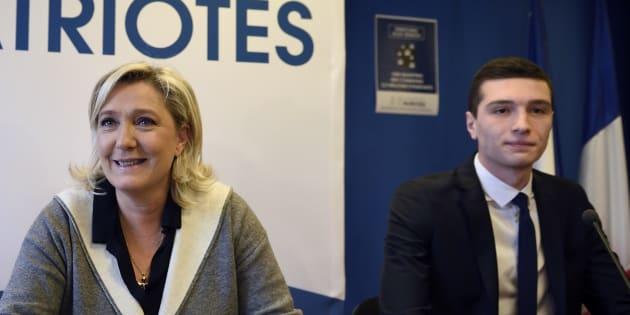 Marine Le Pen a choisi Jordan Bardella, 23 ans, pour diriger la campagne des européennes pour le Rassemblement national.
