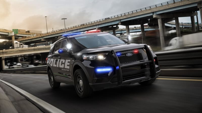 Ford shows off the 2020 Police Interceptor Utility | Autoblog