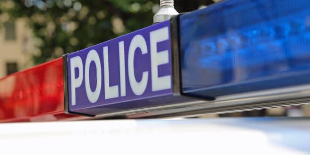 Police in Hobart. Tasmania. Australia