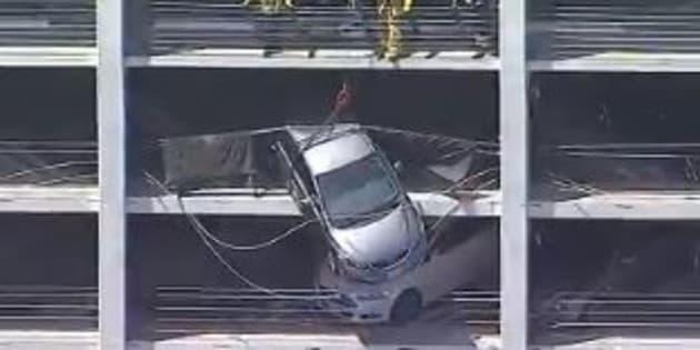 Un touriste français a sauvé cette conductrice dans un parking de Santa Monica