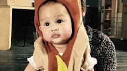 Chrissy Teigen Celebrates Luna's First Halloween With Adorable
