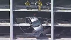 Un touriste français a sauvé cette conductrice dans un parking de Santa