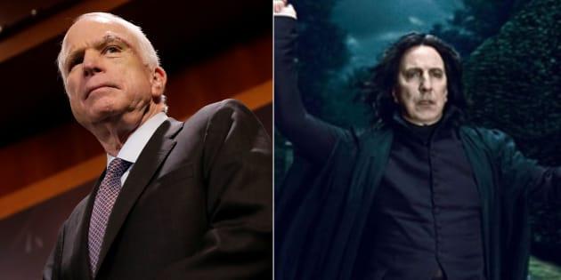 John McCain et Severus Rogue ne font qu'un