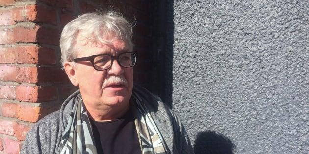 Stephen Reid talks to media in Victoria on March 3, 2015.