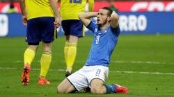 Éliminée par la Suède, L'Italie ne participera pas à un Mondial pour la 1ère fois en 60