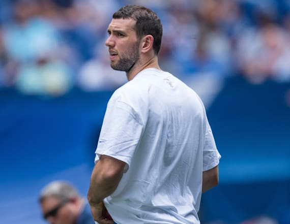 Colts unsure of when Andrew Luck will be playing