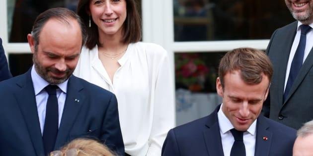 Emmanuel Macron et Edouard Philippe à l'Elysée le 17 octobre.