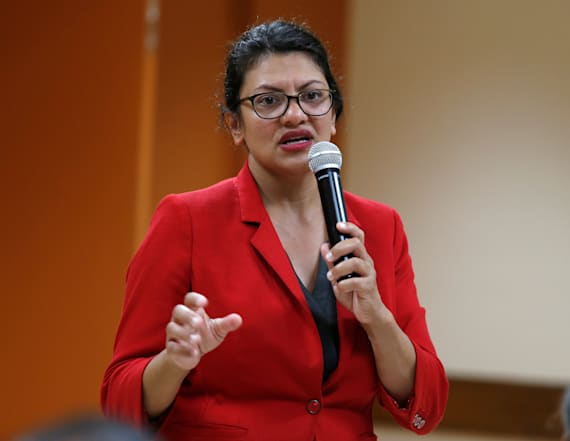 Rep. Rashida Tlaib wins Democratic primary challenge