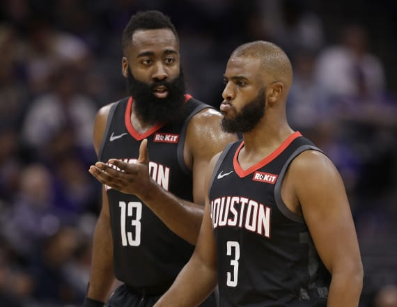 Sources reveal drama between Houston's Paul, Harden