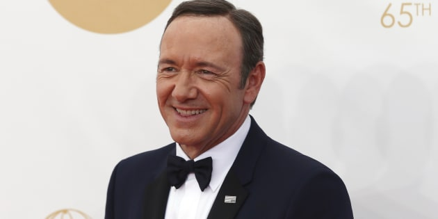 Actor Kevin Spacey arrives at the 65th Primetime Emmy Awards in Los Angeles September 22, 2013. REUTERS/Mario Anzuoni (UNITED STATES Tags: ENTERTAINMENT) (EMMYS-ARRIVALS)