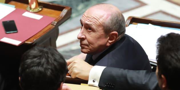 Gérard Collomb (ici le 21 février) auditionné dans l'affaire Alexandre Benalla: les questions sensibles auxquelles il devra répondre.