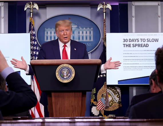 Poll: Less than half back Trump's pandemic response