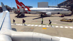 Qantas Plane Crashes Into Catering Truck At Sydney