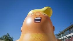 Un «bébé Trump» géant survolera Londres pendant la visite du