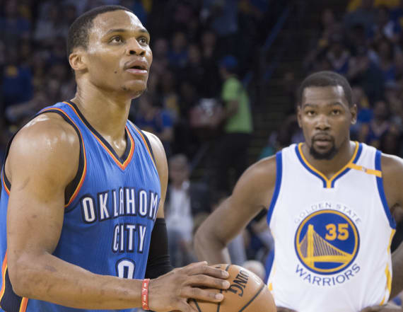 Kevin Durant 'liked' a comment criticizing Westbrook