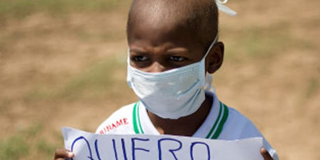8-year-old Oliver Sanchez became the poster child of the nightmare that is now Venezuela.